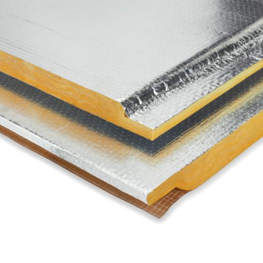 Panel de lana mineral URSA Air para construcción de ductos de Climatización