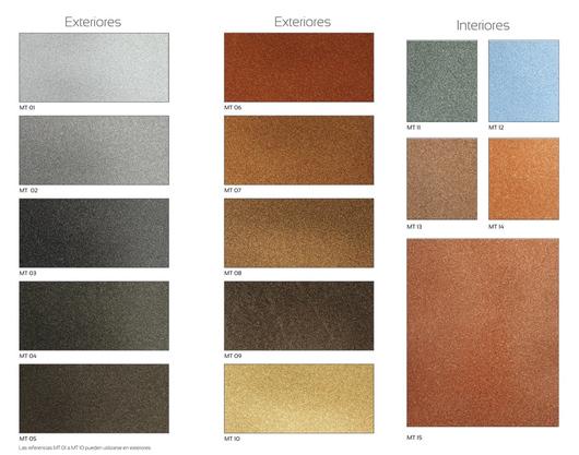 Revestimientos metalizados interiores y exteriores de corev - Recubrimientos para fachadas ...
