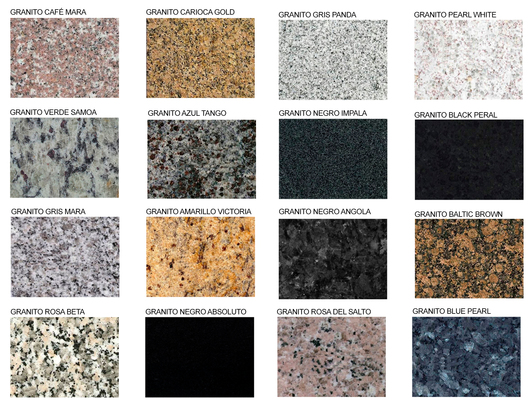 Revestimiento granito de ademaro pellacani for Colores marmoles cocina