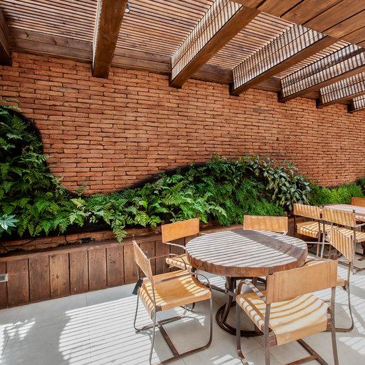 Jardines verticales postformados de verde 360 - Techos modulares ...