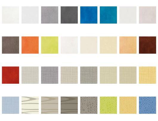 Revestimiento Vinílico de Pared Aquarelle Wall HFS - Colores