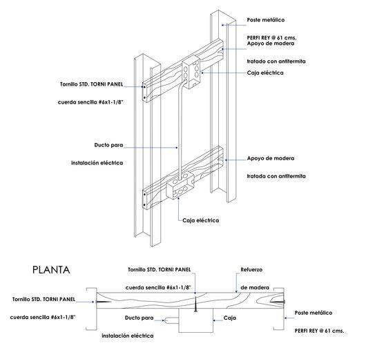 Detalles para instalaciones de panel rey - Tuberia para instalacion electrica ...