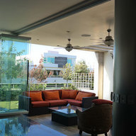 Sistema corredizo para puertas plegables de vidrio (Tauro Centro)