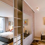 Sistema corredizo para puertas de closet Patagonia 18 Standard