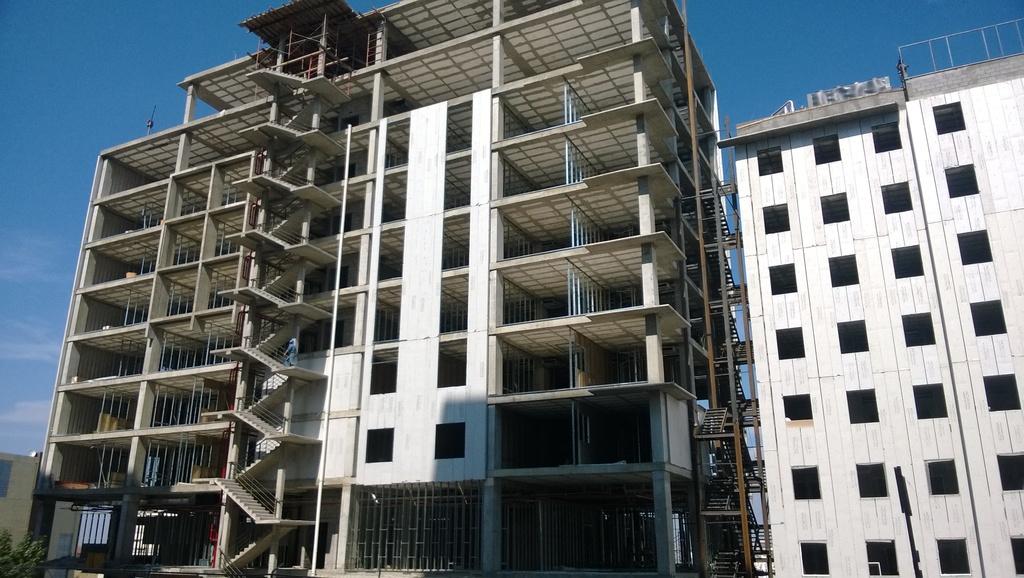 Aplicación en edificación de hoteles