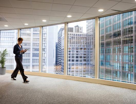Aplicación en edificios - Vista interior
