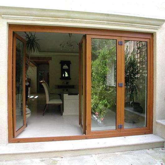Puertas plegables de k mmerling - Puertas para terrazas ...