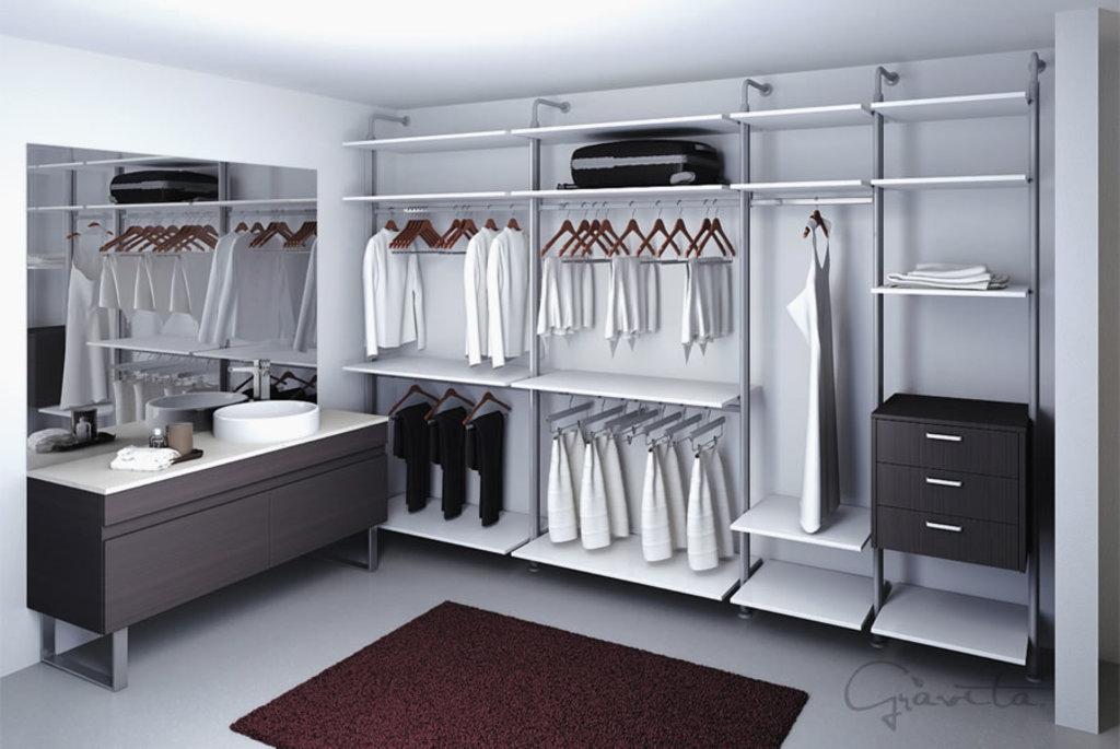 Closets tubulares de gravita for Disenos de closets sencillos