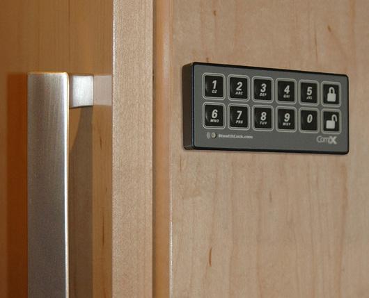 Seguridad- Cerradura oculta