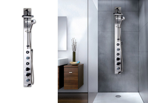 Columnas de ducha hidromasaje de chc - Columnas de ducha termostaticas ...