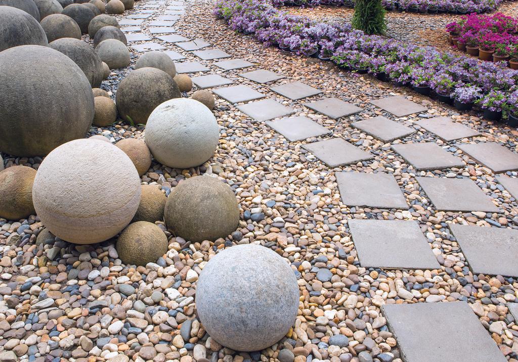 Revestimientos de piedras naturales de macere m xico for Jardines en piedra natural