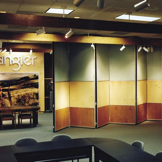 Divisiones Acústicas Móviles, Panel Pareado
