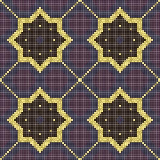 Mosaicos de Vidrio Estrella