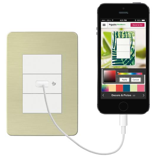 Cargador USB 1A para celulares y tablets
