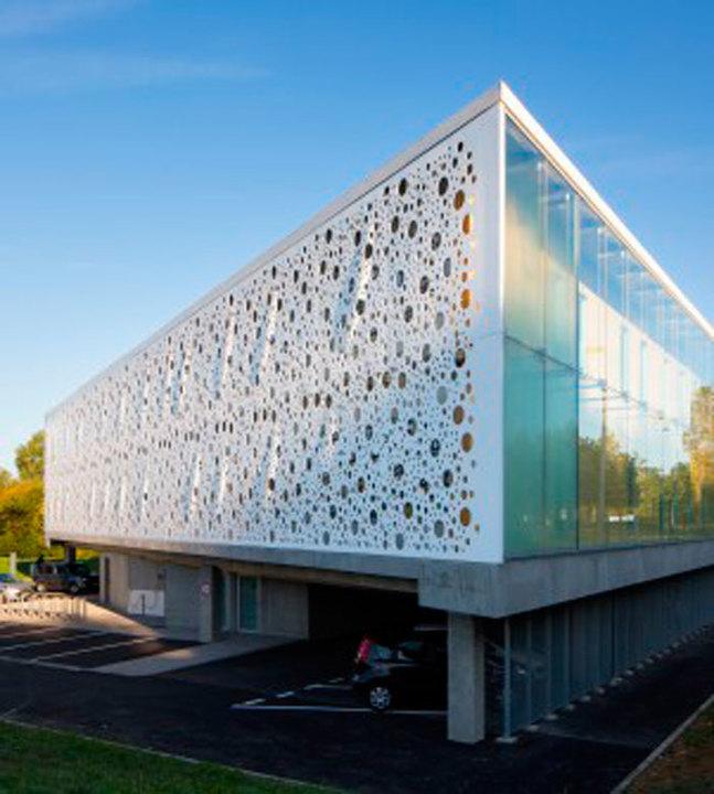 Doble piel sistema de fachadas ventiladas de amkel - Recubrimientos para fachadas ...