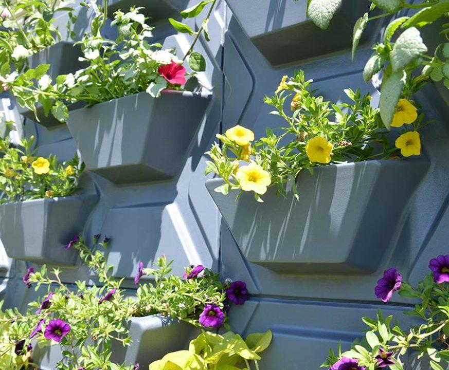 Jardines verticales de arkos for Riego de jardines verticales