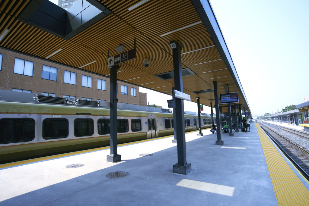 Accoya® Wood at Metrolinx Train Station
