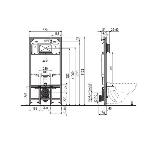 Inodoros de sistemas tanque oculto tecnobath de valmex for Fluxometro roca