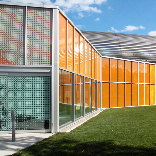 Exterior Glazing - ClearShade for Facades / Panelite