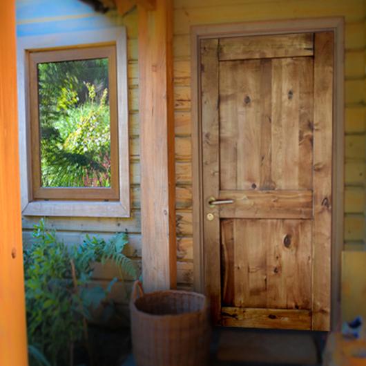 Puertas de Lenga -  Uso sustentable del bosque nativo / Ignisterra