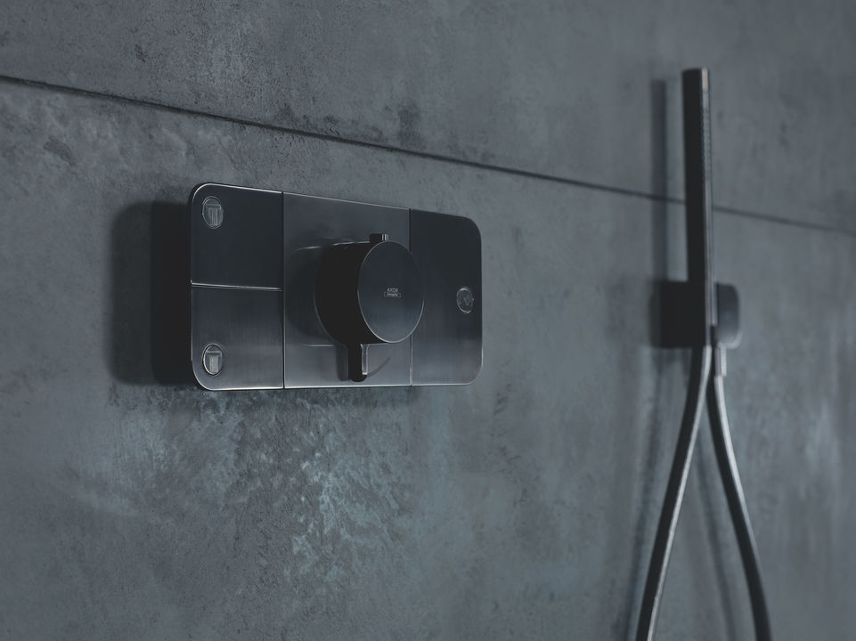 Tecnología para regaderas: Termostato Axor One