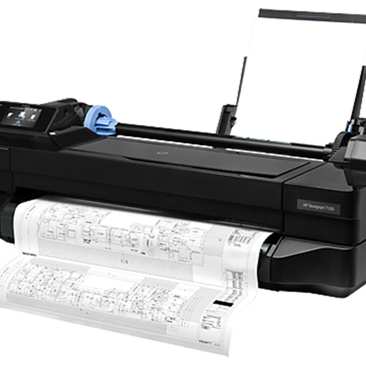 HP DesignJet T120 plotter gran formato