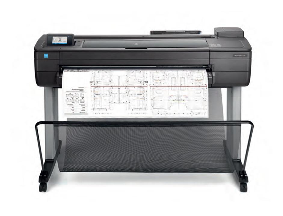 HP DesignJet T730 plotter de gran formato