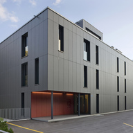 Back Ventilated Facades - Formboard top pine