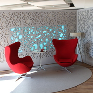Room Acoustics Solutions - Dividers for Offices