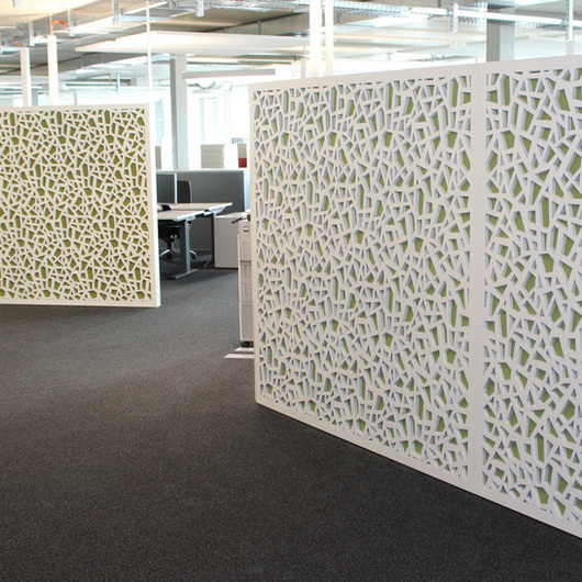 Room Acoustics Solutions - Dividers for Offices / Bruag