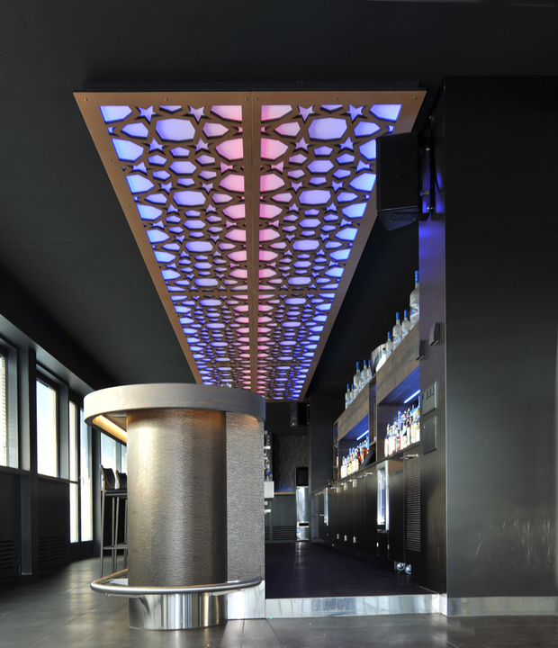 Acoustic Panels with LED
