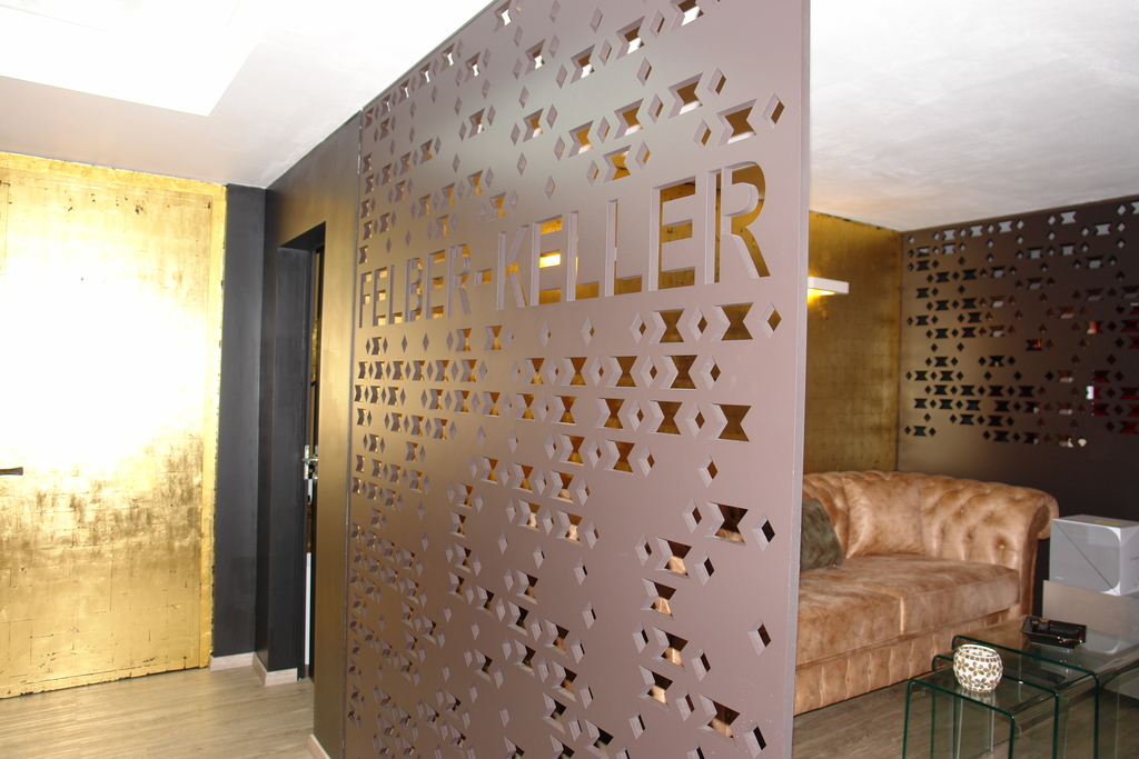 Room Acoustics And Parion Walls Bruag Mdf 19 30mm Perforation 50803 Adapted Logo
