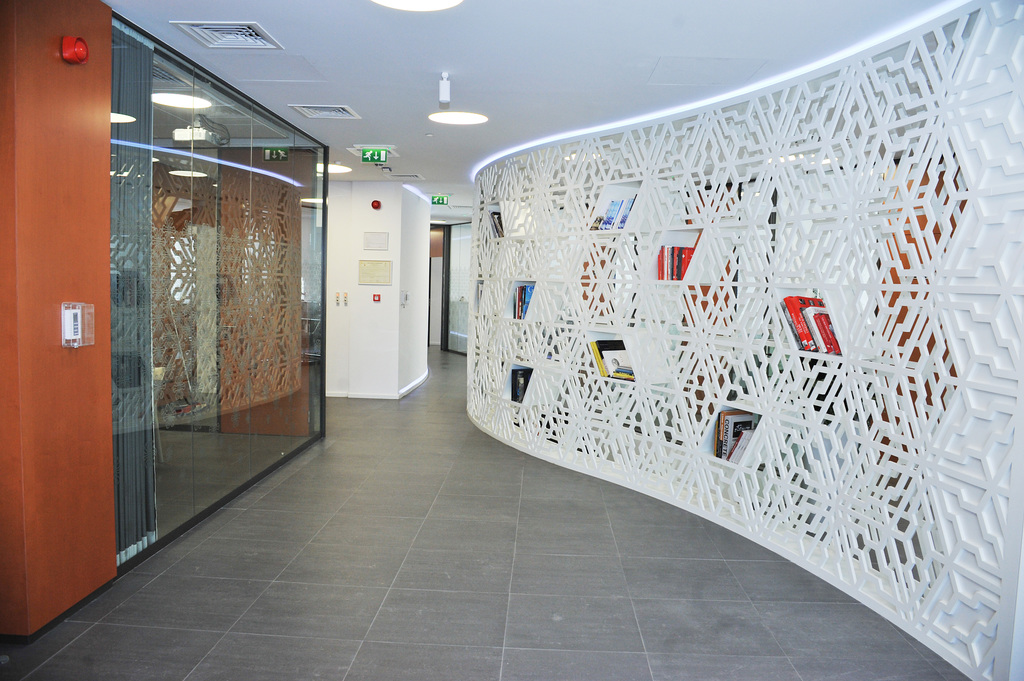 Wall Cladding - MDF Perforated Panels from Bruag