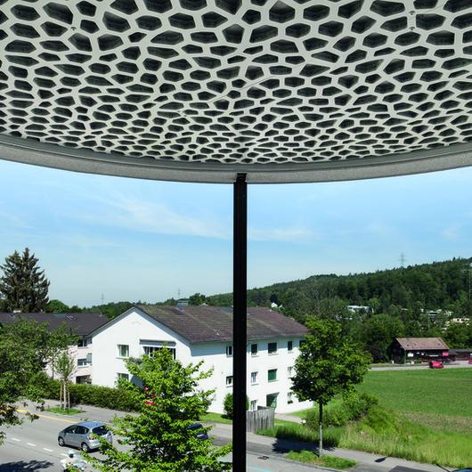 Acoustics System  - Balcony cladding panels / Bruag