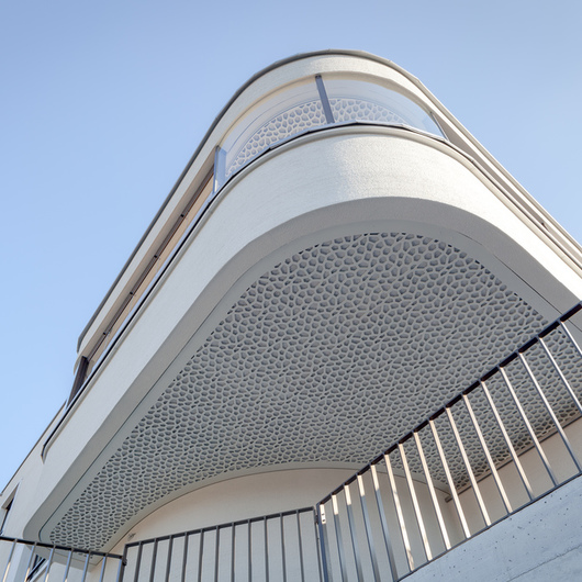 Acoustics System  - Balcony Cladding Panels / Bruag