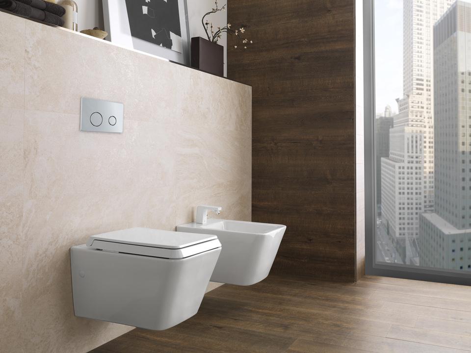 sistema wc suspendido smart line de porcelanosa grupo