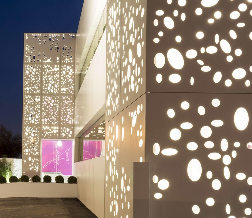 Perforated Facade Panel