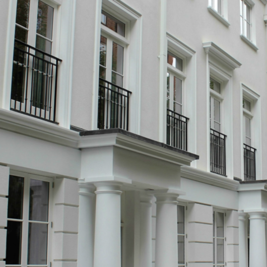 Accoya® Wood in Luxury Apartments in St Johns Wood / Accoya