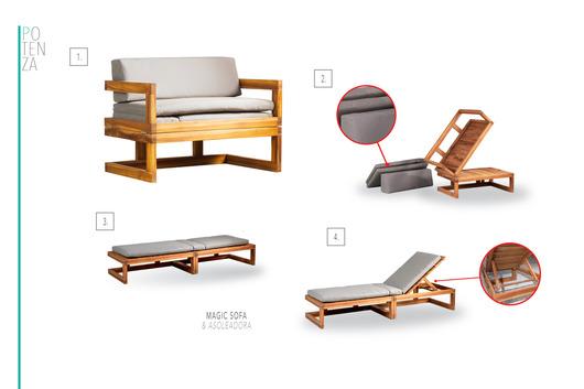 Muebles De Terraza Teca De Potenza Home