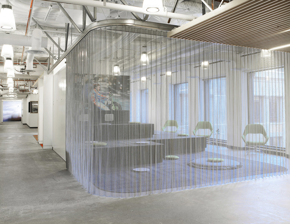 Incroyable Fabricoil™ Interior Partition Systems
