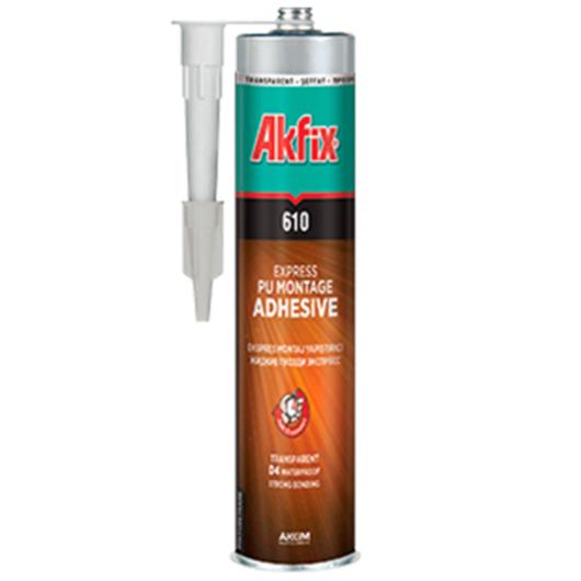 Adhesivo de Montaje Transparente Akfix PU Express