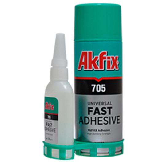 Adhesivo Akfix MDF Kit Adhesivo y Activador / Nuprotec