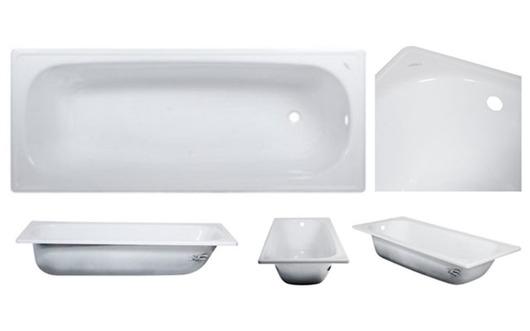 Tina de Acero Esmaltada 170 x 70cm - Blanca