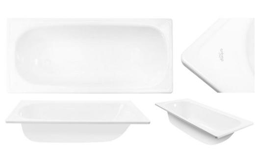 Tina de Acero Esmaltada 150 x 70cm - Blanca