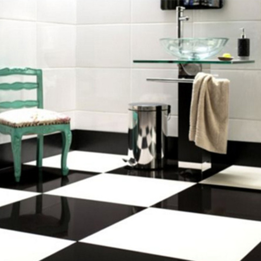 Porcelanato Super White | Super Black