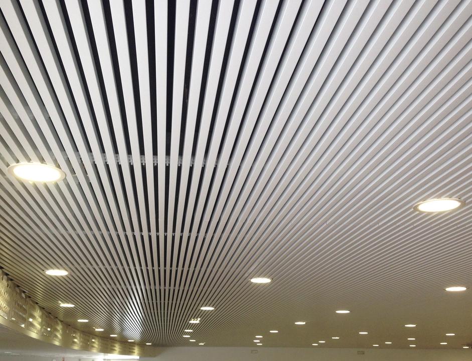 Cielo Metálico Lineal Phalcel U31-U81