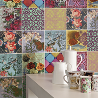 Cerámicos Decortiles Calu Rosa / Eliane
