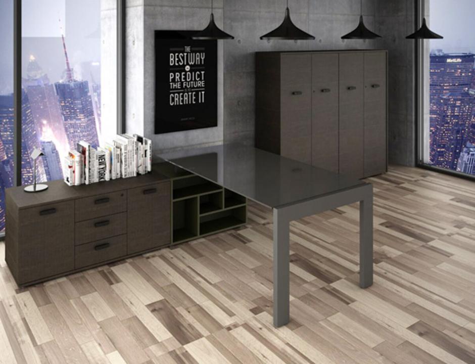 Mobiliario para oficinas nivel ejecutivo de muebles cook for Medidas de muebles de oficina pdf
