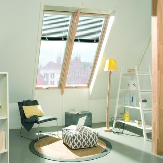 Wooden pivot roof windows FYP-V proSky / FAKRO