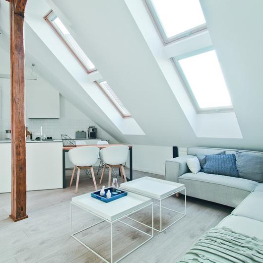 Wooden pivot roof windows FTP-V / FAKRO